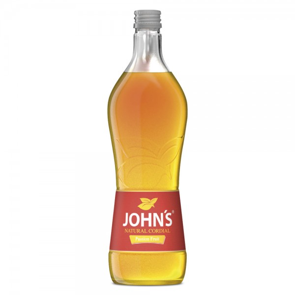 John's Natural Cordial Passionsfrucht Sirup