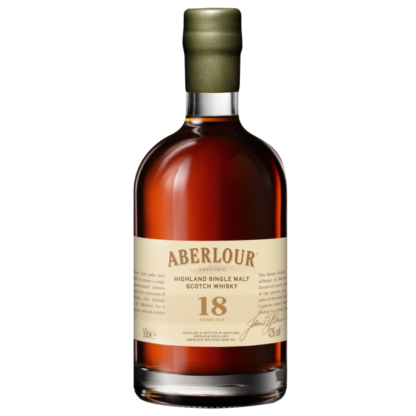 Aberlour 18 Jahre 43% Vol. Highland Single Malt Scotch Whisky in Geschenkpackung