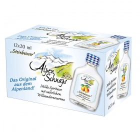Alpenschnaps Williams Steinbeisser 35% Vol.