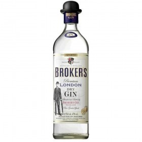 Broker's Gin 47% Vol. Premium London Dry Gin