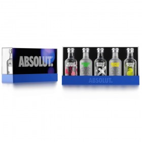 Absolut Hard Five 40% Vol. (Raspberri / Lime / Vanilla / Citron / Kurant)