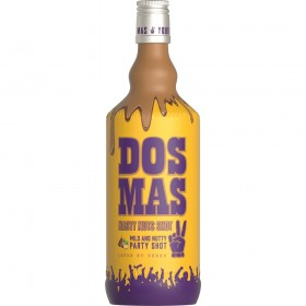 Dos Mas Nasty Nuts 17% Vol. Nuss-Nougat-Likör mit Vodka