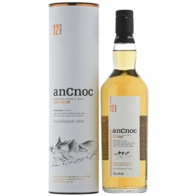 An Cnoc 12 Jahre 40% Vol. Highland Single Malt Scotch Whisky in Geschenkpackung