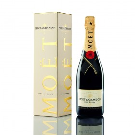 Champagner Moet & Chandon Impérial Brut in Geschenkpackung
